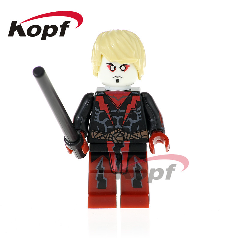 Single Sale Super Heroes Black Widow Adam Warlock Gamora Amora Wrecker Bricks Building Blocks Children Education Gift Toys PG395