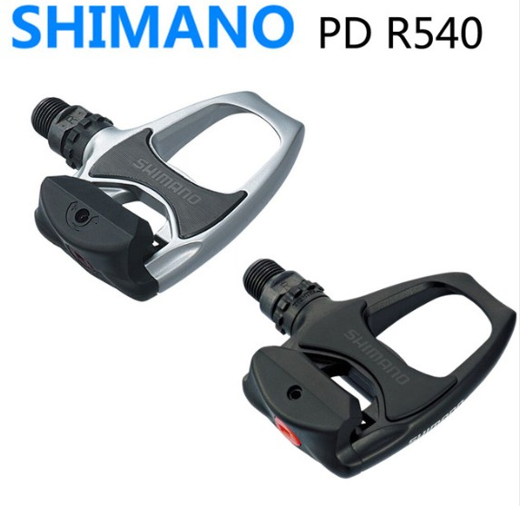 PD R540 Shimano Self Locking SPD Pedals Components Using for Bicycle Racing Road Bike Parts r540