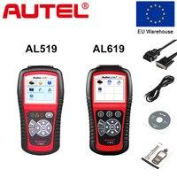 Autel Original Car Diagnostic Tool OBD2 Automotive Scanner AL519 AL619 EOBD Fault Code Reader Scan Tools Escaner Automotriz