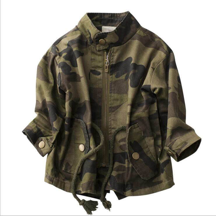 Kids Jackets Boy Girls Camouflage Zipper Windbreaker Long Sleeve Casual  Work clothes Trench Children Outdoor Coats 4-14yearsKids Jackets Boy Girls Camouflage Zipper Windbreaker Long Sleeve Casual  Work clothes Trench Children Outdoor Coats 4-14years