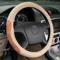 Genuine Top Layer Leather Car Steering Wheel Cover Sport Steering Covers Four Season Steering Wheel Cases Car Handlebar