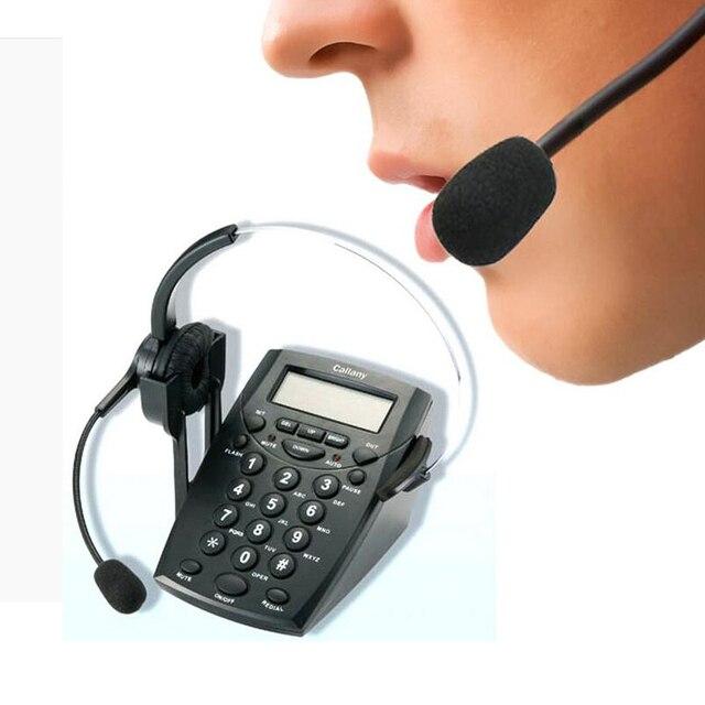 Гарнитура телефон бизнес гарнитуры аон телефон обслуживание клиентов телефонный трафик черный
