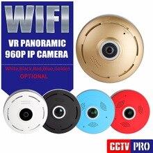 360 градусов панорамный Fisheye 960 P HD IP Камера Wi-Fi Беспроводной безопасности Камеры Скрытого видеонаблюдения VR 3D Cam охранных Видеоняни и Радионяни