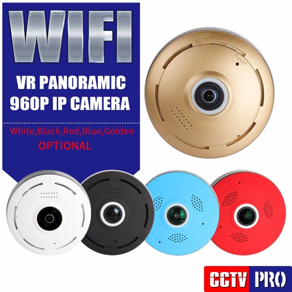 imágenes para Panorámica de 360 grados de ojo de Pez de 960 P HD Cámara IP Wifi VR 3D Cam Seguridad Para El Hogar inalámbrico de Vigilancia de Cámaras de Seguridad Del Bebé Monitor