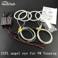 HochiTech Excellent Angel Eyes Kit For Volkswagen VW Touareg 2003 2004 2005 2006 Ultra Bright Headlight