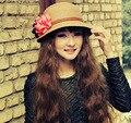Г-жа весенние и летние цветы шляпа солнца Складной пляж шляпа