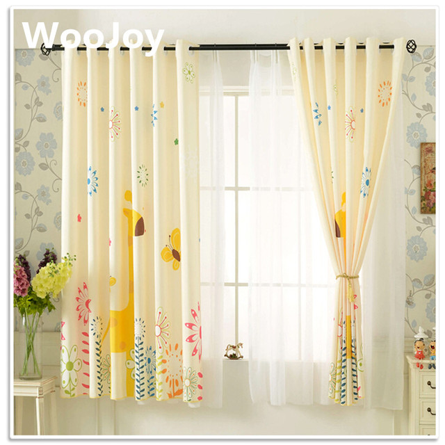Cartoon Gariffe Kids Room Window Curtains For Baby Room Children Baby  Curtains For Living Room Corina Kids Room Decoration