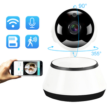 Беспроводной видеокамера с Wi-Fi HD 720 P Ночное видение домашнее видео видеонаблюдения IP Камера P2P SD карты миниатюрный детский монитор