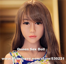 2016 NEW Top quality love doll heads for TPE sex doll, oral adult doll head sex products, life size sex toy