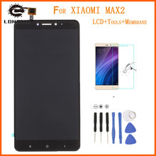 Black NEW 6.44″ Xiaomi Mi MAX2 LCD Show Contact Display screen Digitizer Meeting With Body Substitute Components For Xiaomi Mi MAX 2 LCD