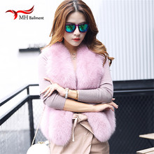 Luxurious Natural Fox Fur Coat Women's Real Fur Jacket Genuine Fox Fur New Fashion Ladies Female Winter Coat A#3