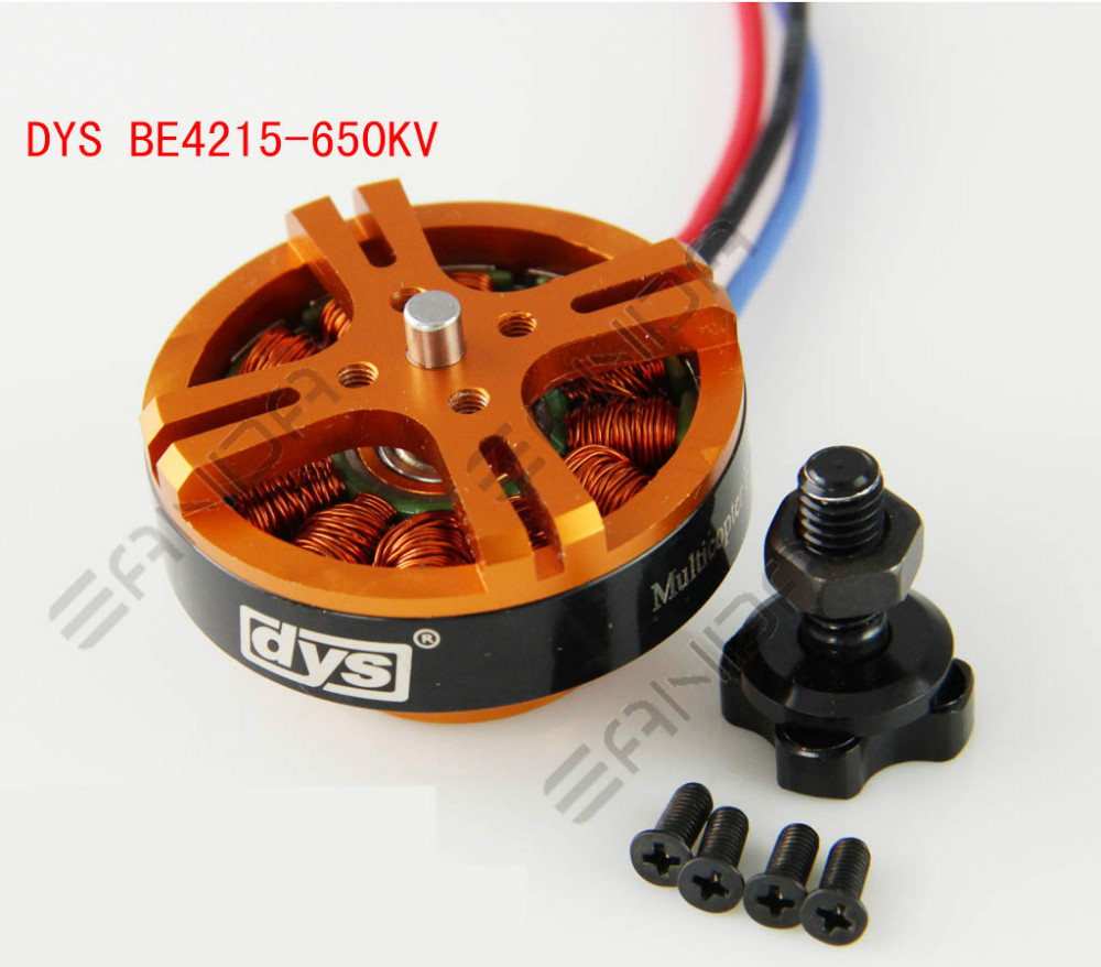 1pcs DYS Brushless Motor 4215 650KV For RC Model Quadcopter Hexacopter Multicopter DYS BE4215-650kv