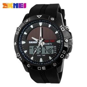 Image 3 - Brand Solar Energy  Mens Quartz Watch Men Sports Watches Relogio Masculino Digital Multifunctional Outdoor Wristwatches SKMEI