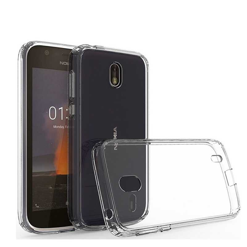 For Nokia 1 Case Silicone Cover Shockproof Soft TPU For Nokia1 Nokia1 Transparent Phone Back Protection Shell Coque