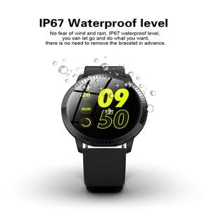 Image 4 - גברים SmartWatch נשים שעון חכם אנדרואיד קצב לב לחץ דם ip68 עמיד למים gps sim גשש כושר wristbands צמיד