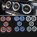 Для Mercedes Benz C класса GLC W205 X253 2015-2019 Автомобильный Интерьер Передняя консоль Кондиционер AC Vent Outlet Turbo стиль заменить
