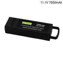 11.1v 7500mah 3s lipo bateria para yuneec q500 4k para typhoon rc zangão bateria de backup de grande capacidade para yuneec q500 4k