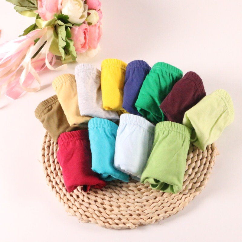 5 Pcs/lot Children Panities Kids Underwear Soft Cotton Baby Brief For Kid Panties Boys Briefs Holidays Birthdays Gift 1-2 Years
