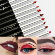 Sexy Matte Lip Stick Lipliner Lip Liner Pencil Nude Lips liner Pen Set Beauty Makeup Tool Cosmetic Women Lips Makeup Waterproof natural sexy matte lip stick lip liner lip liner pencil matt lips liner pen set makeup tool cosmetic