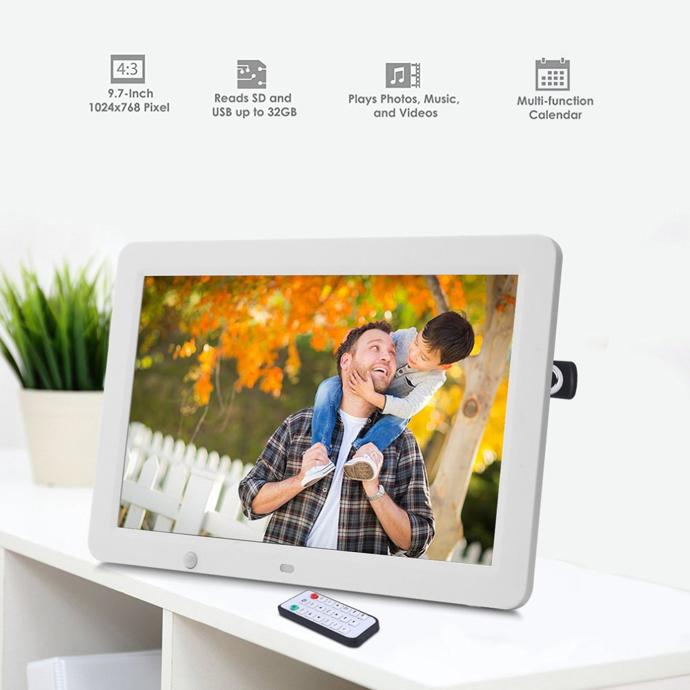 12 inch hd digital photo frame motion sensor 8gb memory led 12 inch hd digital photo frame motion sensor 8gb memory led picture frame with wireless remote control music mp3 video mp4 in frame from home garden on jeuxipadfo Image collections