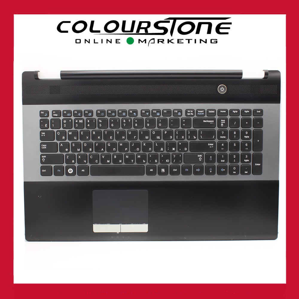For Samsung RC730 NP-RC730 Palmrest Accembly RU Russia Keyboard Touchpad 9Z.N6ASN.00R neworig keyboard bezel palmrest cover lenovo thinkpad t540p w54 touchpad without fingerprint 04x5544