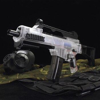 G36C wasser Pistole Elektrische Burst Spielzeug Gel wasser Ball Pistolen Für Kinder Aus Tür Hobby