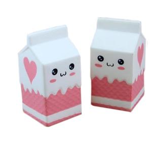 12cm Milk Box Squishy Toys For