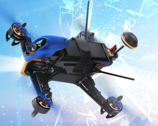 Walkera f210 3d furious 210 anti collision racing drone w/osd camera fpv quadcopter bnf gratis express verzending