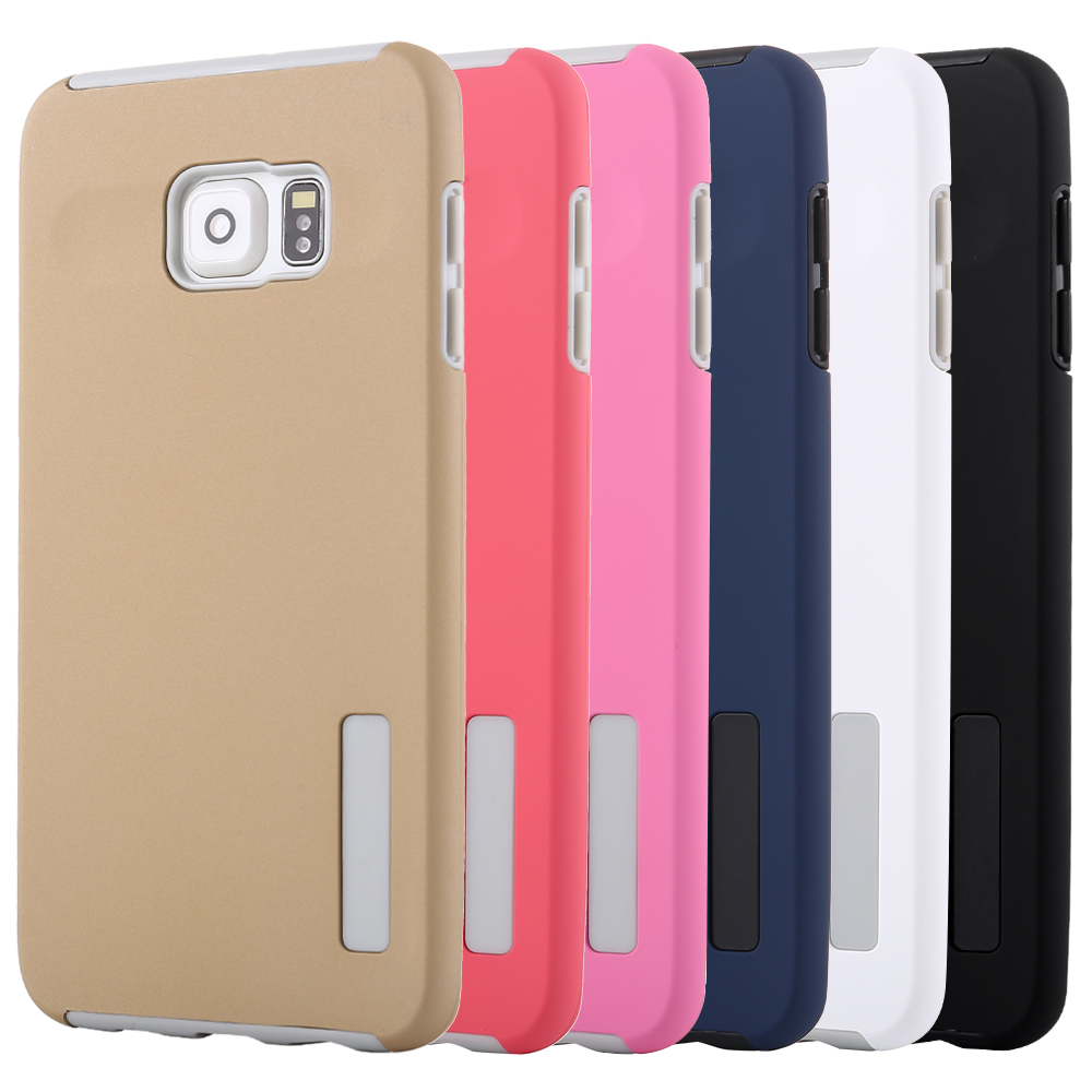 <font><b>Case</b></font> For Samsung <font><b>Galaxy</b></font> S5 S6 <font><b>S7</b></font> Cover 2 in 1 Candy Armor TPU+PC Soft ultra thin <font><b>phone</b></font> <font><b>Case</b></font> funda For <font><b>Galaxy</b></font> <font><b>S7</b></font> S6 <font><b>edge</b></font> Plus