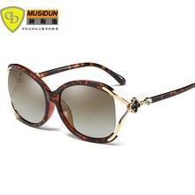 2018 Горячие продавая новые женщины способа повелительницы поляризованные солнечные очки Vintage Sunglass Женщины Oculos de sol feminino UV400 A403