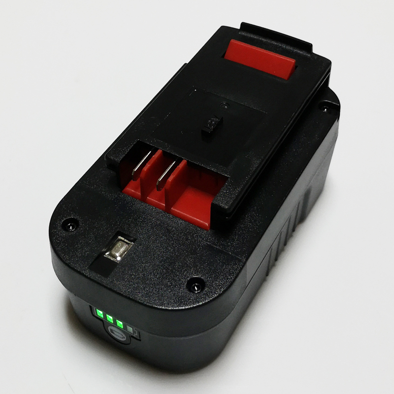NEW 18V Rechargeable Li-ion battery cell 5000mah for Black Decker cordless Electric drill  FS1800CS FS1800D A18 A1718 FS1800IDNEW 18V Rechargeable Li-ion battery cell 5000mah for Black Decker cordless Electric drill  FS1800CS FS1800D A18 A1718 FS1800ID