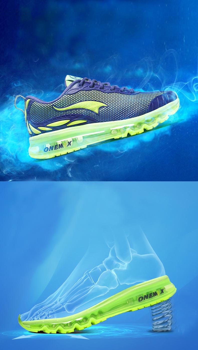 ONEMIX Breathable Mesh Running Shoes for Men Women Sneakers Comfortable Sport Shoes for Outdoor Jogging Trekking Walking 8