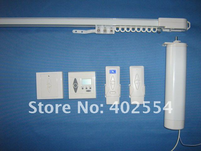 Motorized Curtain System, Electric Curtain Track System, Automatic Curtain  Track, Free Shipping