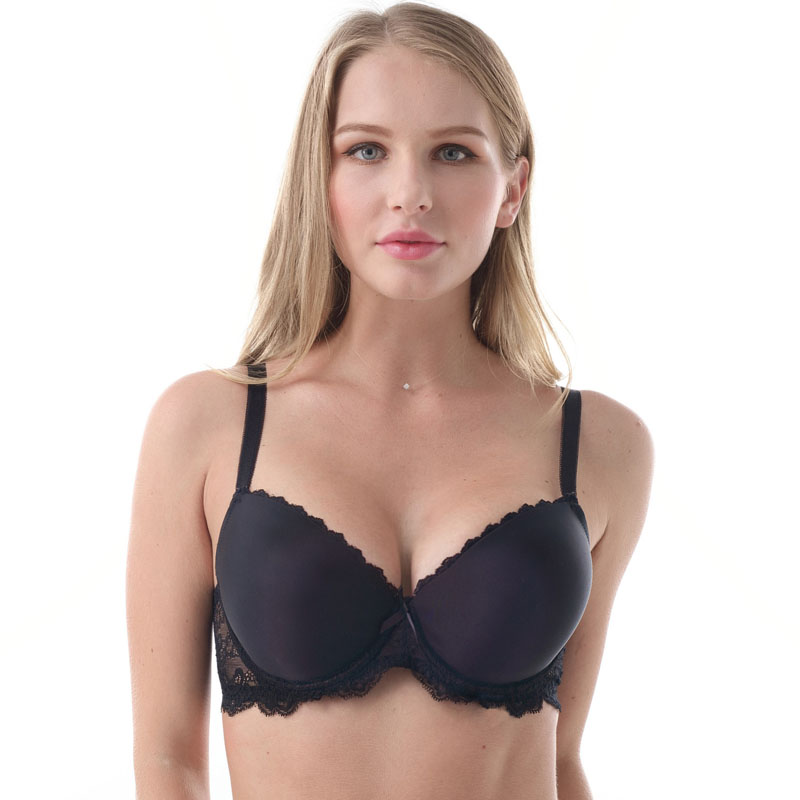 7610 Plus Size Bra 30 32 34 36 38 40 42 44 46 D DD DDD E F FF G Cup Underwire Push Up Sexy Lace Bra For Women Brassiere in Bras from Underwear Sleepwears