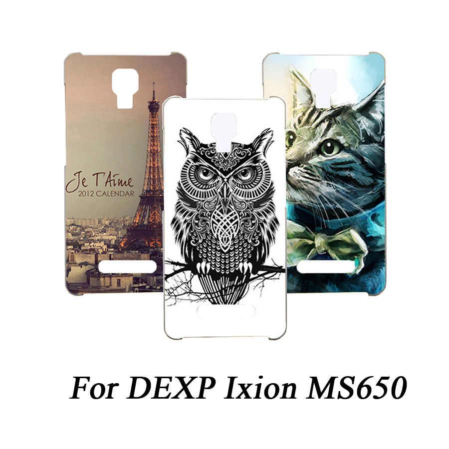 Para DEXP Ixion MS650 funda de teléfono de moda colorida pintada funda para DEXP Ixion MS650 TPU funda protectora trasera para teléfono coque
