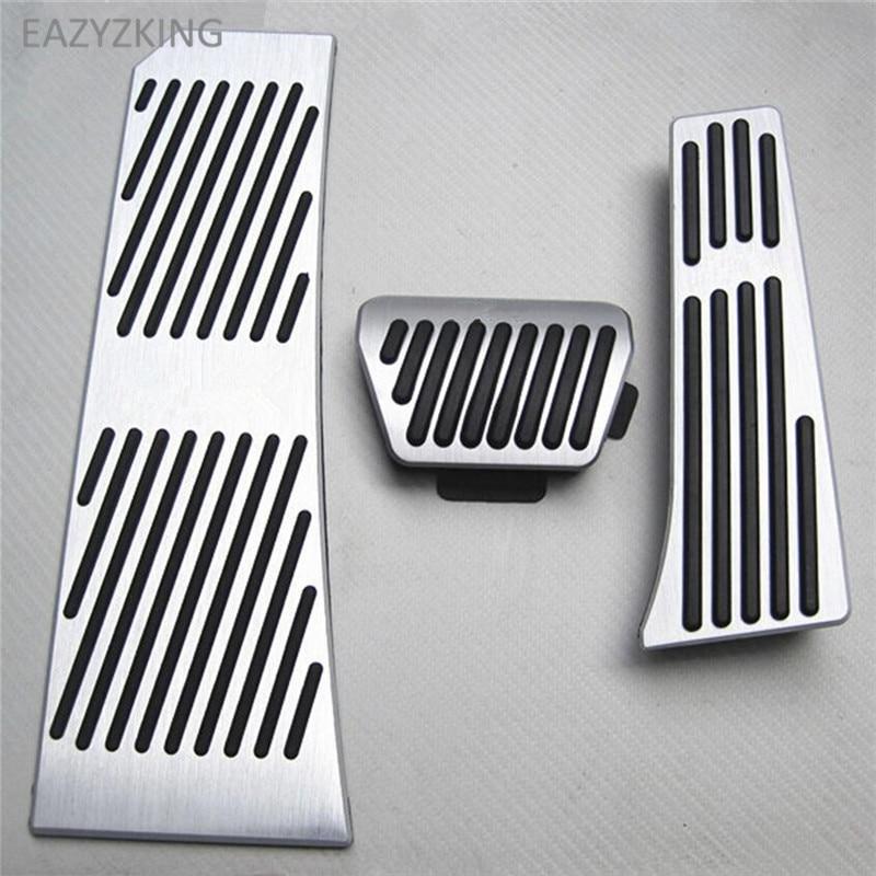 EAZYZKING Car Gas Brake Pedal For BMW 5-series F07 F08 F10 F11 F18/6-serie F06 F12 F13/7-series F01 F02 F03/X3 X4 F25 F26 Z4 E85