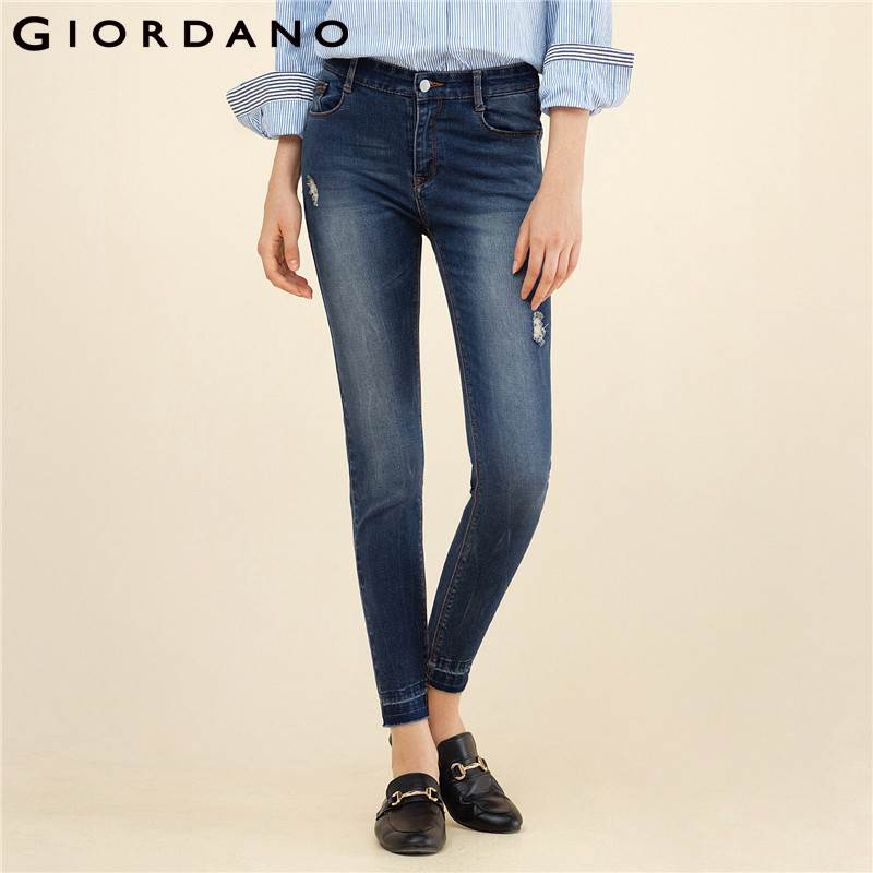 Brilliant Aliexpress.com  Buy Giordano Women Casual Pants For Women Cotton Stretchy Woman Trousers Print ...