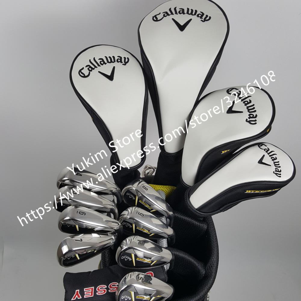 Golf clubs warbird 5 golf clubs full set of tee driver + fairway wood 2 + Hybrid + irons 8+putter beginner sets of poles no bag womens golf clubs maruman rz complete clubs set driver fairway wood irons graphite golf shaft and cover no ball packs