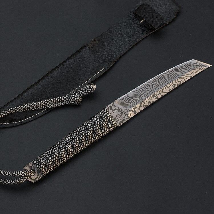 8310929062_436961213  Mengoing Mounted Blade Knife Tanto Tenting Survival 5Cr13 Full Stainless Metal 58HRC Hardness Pocket Karambit Knife Sheath HTB1RcQleOCYBuNkSnaVq6AMsVXaY