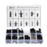 350pcs Car Plastic Push Retainer Pin Rivet Trim Clip Assortments Kit