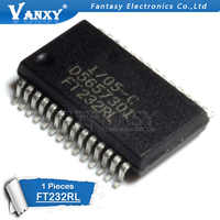 1PCS FT232RL SSOP28 FT232 SSOP SMD USB UART ( USB - Serial) I.C. new and original