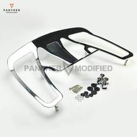 Chrome Aluminum Motorcycle Trunk Luggage Rack case for Honda Goldwing GL1800 2001 2011