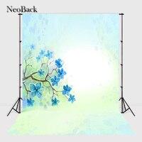 NeoBack vintage 5x7ft vinyl backdrop backgrounds for photo studio children Computer Painted Backdrops A0905