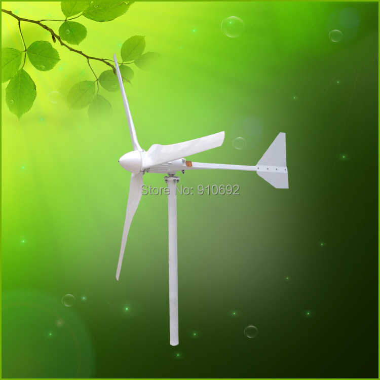 купить 1000W wind turbine generator 3 blades glass fiber дешево