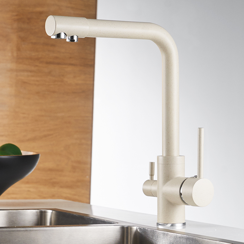 Filter Kitchen Faucets Grifo Cocina Mixer Tap 360 Rotation with Water Purification Features Mixer Tap Crane For Kitchen WF-0175