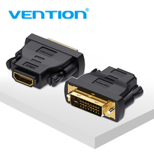 Vention DVI HDMI Adapter DVI to HDMI Converter 24+1 Male to Female 1080P HDTV Connector for PC PS3 Projector TV Box BLUE-RAY new