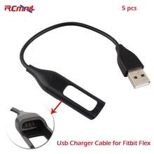 RCmall Usb Зарядное устройство кабель для Fitbit гибкого трекер Браслет Беспроводной активность браслет Зарядное устройство Шнур Замена FZ1672