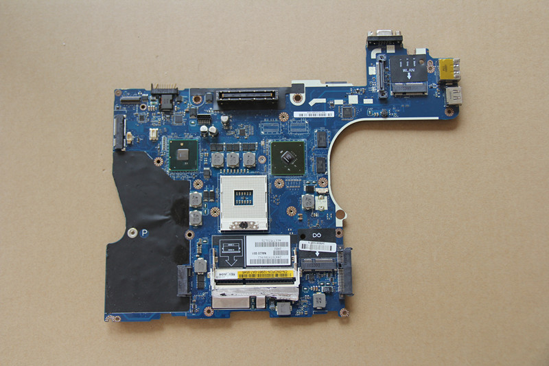 CN-0NCPCN 0NCPCN NCPCN For DELL Latitude E6510 Laptop motherboard LA-5573P with N10M-NS-B-B1 GPU Onboard QM57 DDR3 fully tested 100% original for dell latitude e6420 la 6592p motherboard h2ydf cn 0h2ydf 0h2ydf 100% tested ok