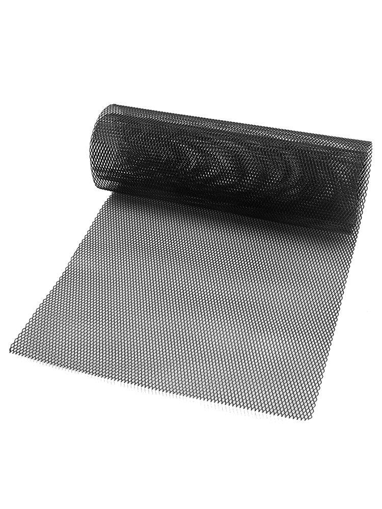 "40/""x13/"" Grille Mesh Net Aluminum Alloy universal Car Vehicle Grill Sheet Black"