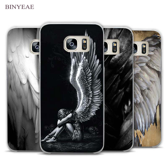 Aliexpress com : Buy BINYEAE angel wings Clear Phone Case Cover for Samsung  Galaxy Note 2 3 4 5 7 S3 S4 S5 Mini S6 S7 S8 Edge Plus from Reliable cover